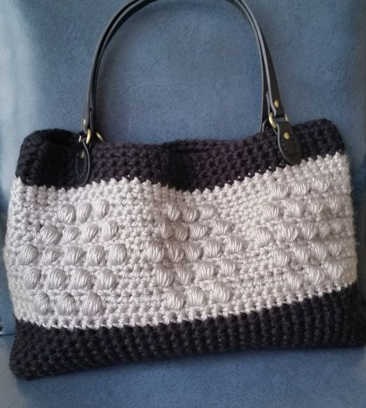 Hexagon Crochet Handbag Free Pattern Cashmere Dandelions